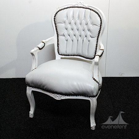 Barok stoel Wit huren