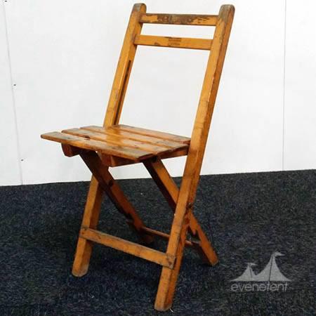 Bistro stoel doorleefd
