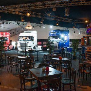 Bruin cafe thema bij Scania