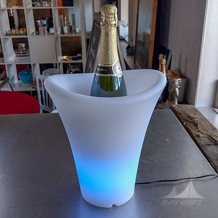 Champagne koeler led klein