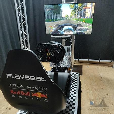 F1 race simulator