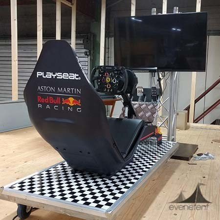 F1 race simulator huren