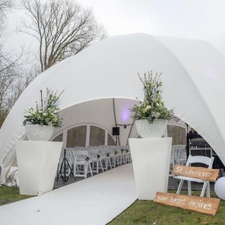 bruiloft dometent