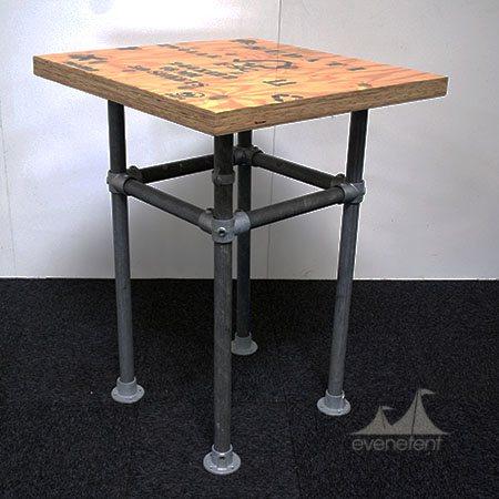 Industriele Statafel -Plywood-