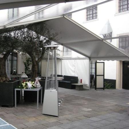 Transparante tent, panorama dak, transparant dakzeil, lichtdoorlatend dak, partytent