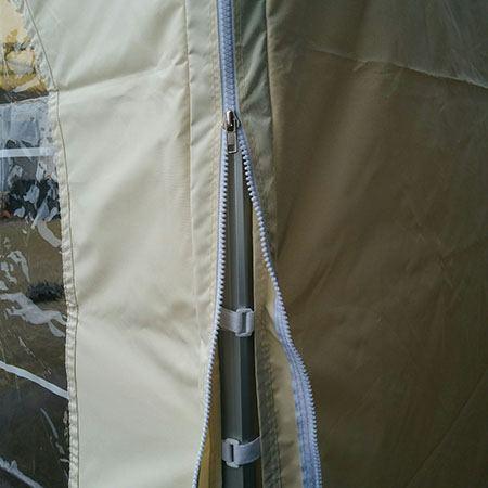 4x4 harmonica tent