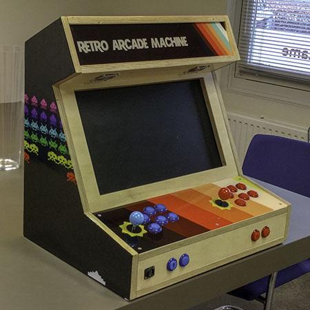 arcade kast huren